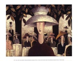 Lady in a Cafe Posters by Danny McBride