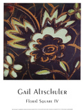 Floral Square IV Prints by Gail Altschuler