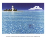 Boca Chita Lighthouse Posters by Dan Mackin