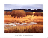 Autumn Reflections Posters by Lynn Welker
