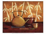 Bamboo Tea Room I Poster von Krista Sewell