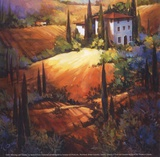 Morning Light Tuscany Posters by Nancy O'toole