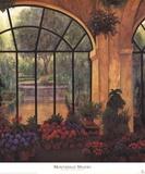 Arches & Flowers Prints by Montserrat Masdeu