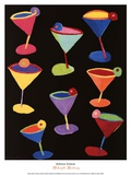 Midnight Martinis Posters by Kathryn Fortson