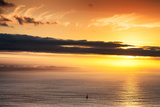 Awesome South Africa Collection - Sea Tranquility at Sunset II Photographic Print by Philippe Hugonnard