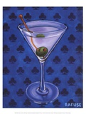 Martini Royale - Clubs Posters av Will Rafuse