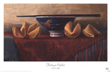 Fortune Cookie Prints by Cathy Lamb