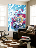 Mighty Thor No. 5 Cover Featuring Thor (Female) Wall Mural by Laura Braga