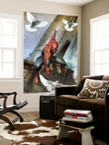 Marvels Spider-Man Panel Wall Mural by Unknown Unknown