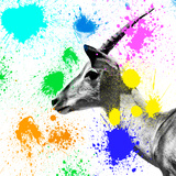 Safari Colors Pop Collection - Antelope IV Giclee Print by Philippe Hugonnard