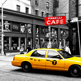 Safari CityPop Collection - New York Yellow Cab in Soho III Photographic Print by Philippe Hugonnard