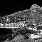 Awesome South Africa Collection Square - Camps Bay - Cape Town B&W Photographic Print by Philippe Hugonnard