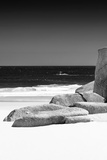 Awesome South Africa Collection B&W - Tranquil White Sand Beach II Photographic Print by Philippe Hugonnard