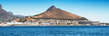 Awesome South Africa Collection Panoramic - Idyllic Moutain and sea Scenery - Cape Town Photographic Print by Philippe Hugonnard