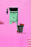 Awesome South Africa Collection - Colorful Houses - Hot Pink Wall Photographic Print by Philippe Hugonnard
