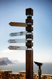 Awesome South Africa Collection - Direction Signs Photographic Print by Philippe Hugonnard