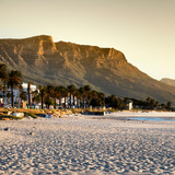 Awesome South Africa Collection Square - Twelve Apostles Moutains at Sunset - Cape Town Photographic Print by Philippe Hugonnard