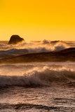 Awesome South Africa Collection - Ocean Sunset I Photographic Print by Philippe Hugonnard