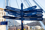 Awesome South Africa Collection - Direction Sign from Cape Town Photographic Print by Philippe Hugonnard