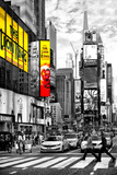 Safari CityPop Collection - Times Square Lion King Photographic Print by Philippe Hugonnard
