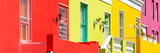 Awesome South Africa Collection Panoramic - Houses in Bo-Kaap Cape Town II Photographic Print by Philippe Hugonnard