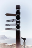 Awesome South Africa Collection - Direction Signs II Photographic Print by Philippe Hugonnard