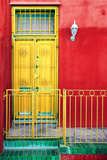 Awesome South Africa Collection - Colors Gateway Yellow & Red Photographic Print by Philippe Hugonnard