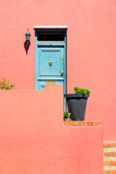Awesome South Africa Collection - Colorful Houses - Salmon Wall Photographic Print by Philippe Hugonnard