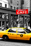 Safari CityPop Collection - New York Yellow Cab in Soho II Photographic Print by Philippe Hugonnard