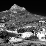 Awesome South Africa Collection Square - Camps Bay - Cape Town B&W II Photographic Print by Philippe Hugonnard