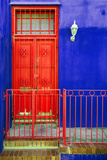 Awesome South Africa Collection - Colors Gateway Red & Royal Blue Photographic Print by Philippe Hugonnard