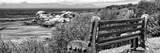 Awesome South Africa Collection Panoramic - View to the Sea B&W Photographic Print by Philippe Hugonnard