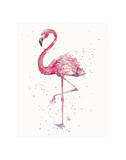 A Flamingo's Fancy Poster af Sillier than Sally