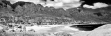 Awesome South Africa Collection Panoramic - Camps Bay Cape Town B&W Photographic Print by Philippe Hugonnard