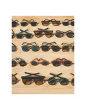 Five Rows of Sunglasses, 2000 Posters af Wayne Thiebaud