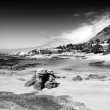 Awesome South Africa Collection Square - Boulders Beach B&W Photographic Print by Philippe Hugonnard