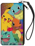 Pokemon Four Starters Canvas Zip Wallet Wallet