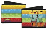 Pokemon Kanto Starter Striped Wallet Wallet