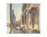 Gondola Moorings on the Grand Canal, 1904/07 Prints by John Singer Sargent