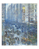Fifth Avenue, 1919 Prints by Childe Hassam