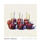 Nine Jelly Apples, 1964 Posters por Wayne Thiebaud
