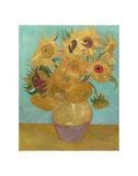 Vase with Twelve Sunflowers, 1889 Posters af Vincent van Gogh