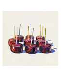 Nine Jelly Apples, 1964 Print by Wayne Thiebaud