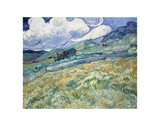 Landscape from Saint-Remy, 1889 Plakater af Vincent van Gogh