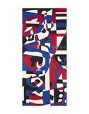 Composition Concrete (Study for Mural), 1957-1960 Prints by Stuart Davis