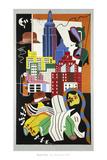 New York Mural, 1932 Plakater af Stuart Davis