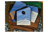 Guitar on a Table, 1915 Posters by Juan Gris