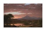 Mt. Ktaadn, 1853 Posters by Frederick Edwin Church