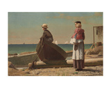 Dad's Coming!, 1873 Prints by Winslow Homer