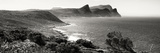 Awesome South Africa Collection Panoramic - South Peninsula Landscape - Cape Town B&W Photographic Print by Philippe Hugonnard